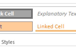 Как сделать рамку ячейки в excel?