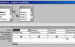 Как сделать запрос с параметром в access 2013?