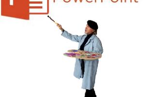 Как сделать фон презентации powerpoint windows 7 старая версия?